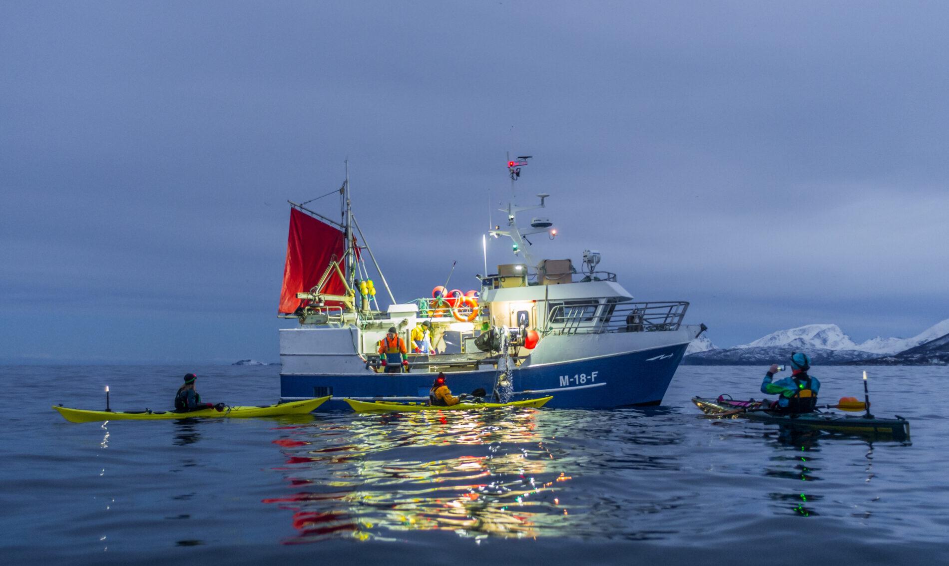 Fiskebåtogpadlere Bo Eide
