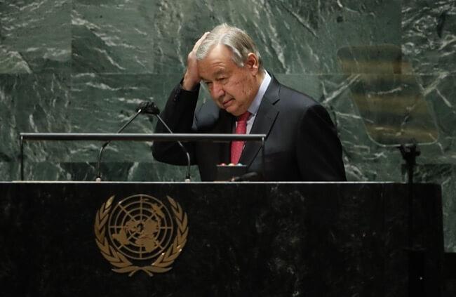 Fn generalsekretaer Antonio Guterres kbnn